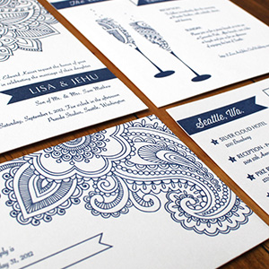 Mathew Wedding Invitation