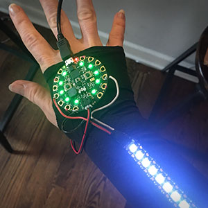 Light Writing – Wearable Controllers